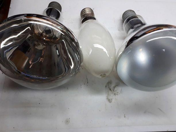 Лампа накаливания (лампочка) 300 Вт 220 в 500 Вт зеркальная ДРЛ-250Вт.