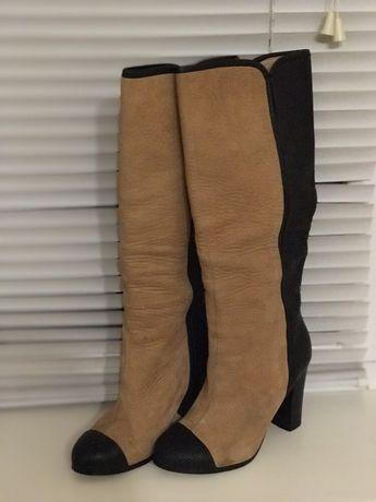 Кожаные сапожки, фирмы Zara