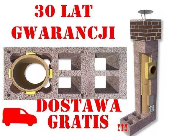 Komin 6m KW2+W2 fi 200 Komin systemowy Ceramiczny 20 Dostawa Gratis !!