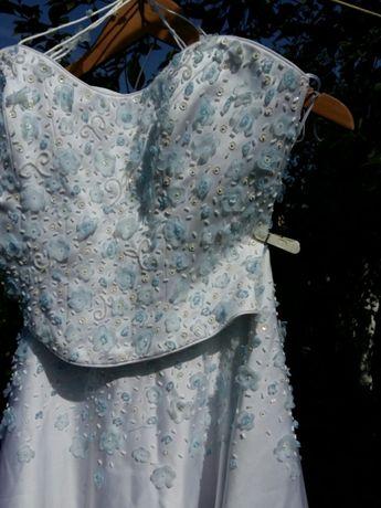 Свадебное платье весільна сукня корсет и юбка