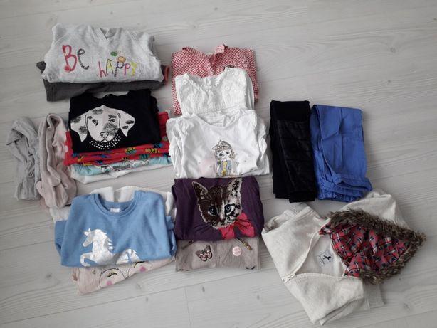 ZESTAW ubrań 19 szt NEXT, H&M ,coccodrillo, cool club r.110