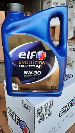 Масло моторное синтетическое Elf Эльф Evolution Full-Tech FE 5W-30 5л