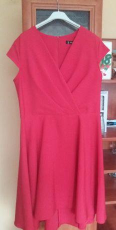 Sukienka czerwona rozm. 42