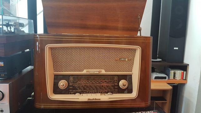 Radio Gira-discos Shaub Lorenz Phono Super 58