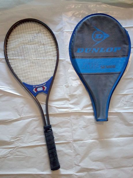 Raquete ténis Dunlop em alumínio