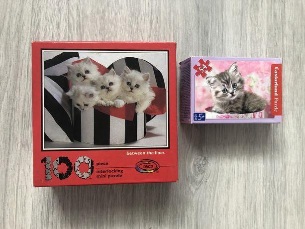 Puzzle koty.