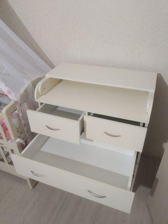 Комод пеленатор,столик пеленальный, детский шкаф, органайзер