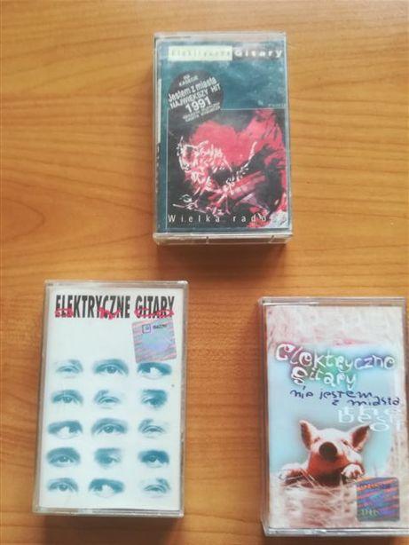 kasety magnetofonowe Elektryczne Gitary