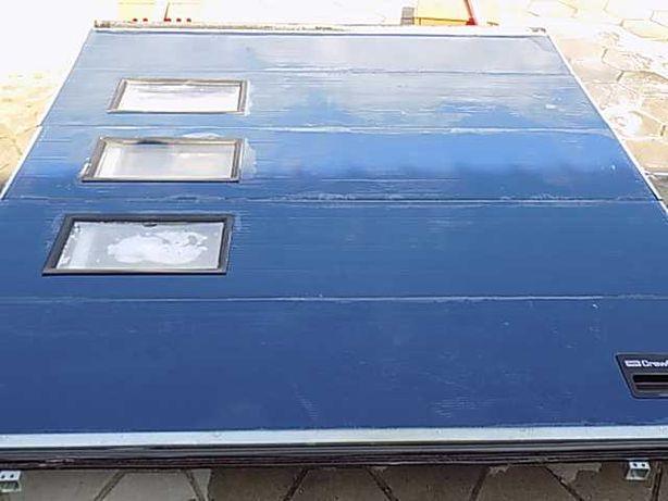 Brama garażowa ,panelowa , segmentowa 284x297cm