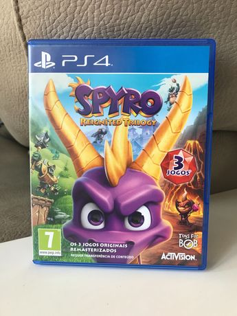 Jogo SPYRO  (3 jogos) para play Station 4