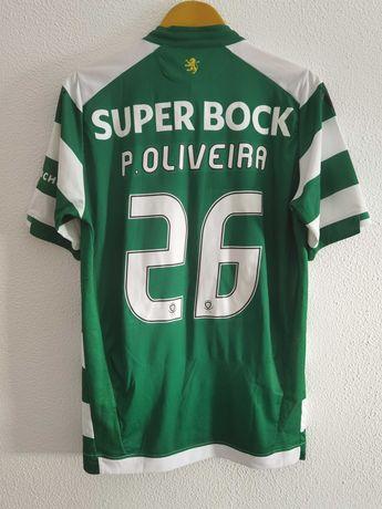 Camisola Sporting Paulo Oliveira | Camisola Centenário