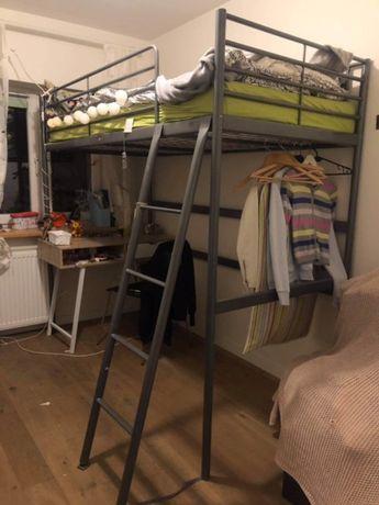 Łóżko na antresoli IKEA SVARTA