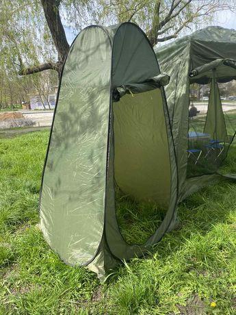 Палатка душ для кемпинга автоматическая переносная туристическая палат