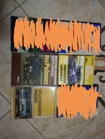 Książki samochodowe, instrukcje obsługi, Polonez, Passat, Vectra