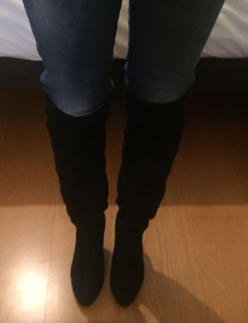 Botas acima joelho