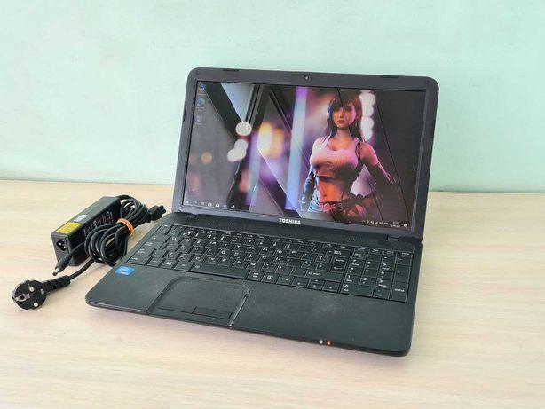 Мощный ноутбук TOSHIBA C850-1NU  (intel 1000М/8Gb/1TB/intel HD)