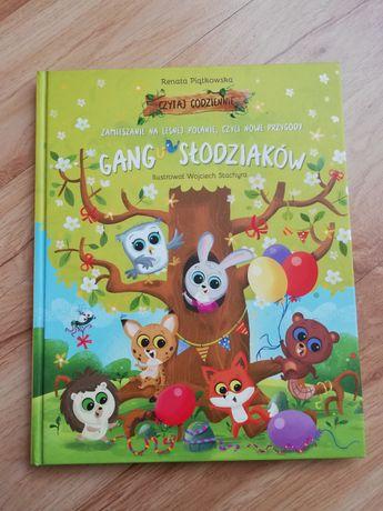 Gang Słodziaków książka dla dzieci kolorowa do czytania Słodziaki