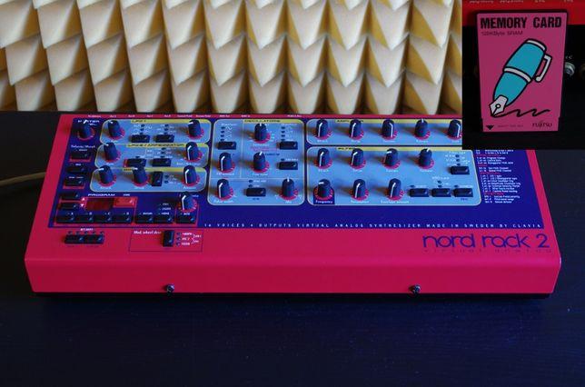 NORD RACK 2 ( moduł Nord Lead 2 ) + karta PCMCIA - STAN IDEALNY !