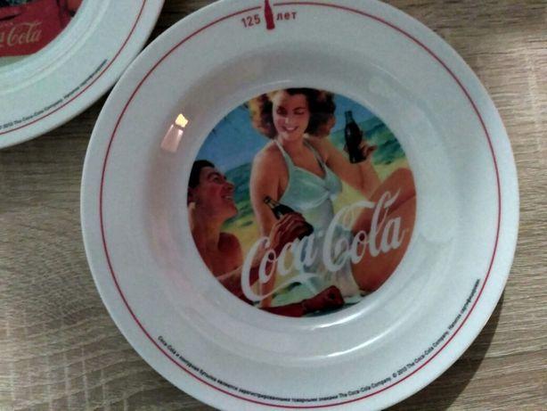 Тарелки CocaCola