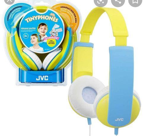 Słuchawki JVC dla dzieci Tinyphones Volume Limited HA-KD5-Y
