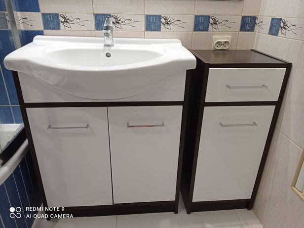 Meble łazienkowe - Szafka z umywalką - szafka łazienkowa