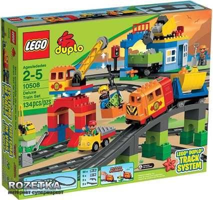 Конструктор LEGO DUPLO Большой поезд (10508) 134 шт.