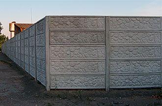 Еврозабор. Бетонный забор от производителя.