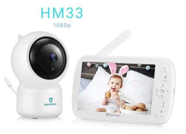 """Monitor/Intercomunicador bebé - câmara de ajuste Remoto - ecrã 5"""""""