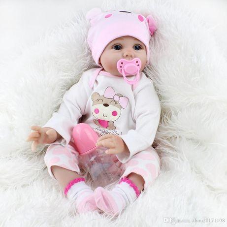 Куклы Реборн 54см или 42см от ТМ Happy Childhood Бесплатная Доставка