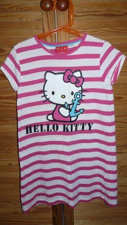 j.nowa sukienka super Hello Kitty H&M idealna na lato rozm. 122/128