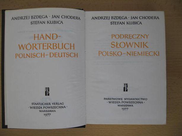 Podręczny słownik polsko-niemiecki mini rozmówki niemieckie