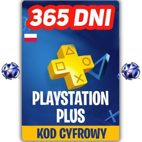 Playstation Plus 365 Dni KOD ZDRAPKA 12 Miesięcy PS Plus 365 KEY PL
