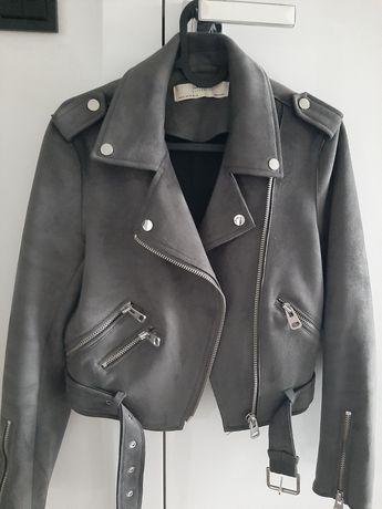 Ramoneska, kurtka zamszowa Zara Xs
