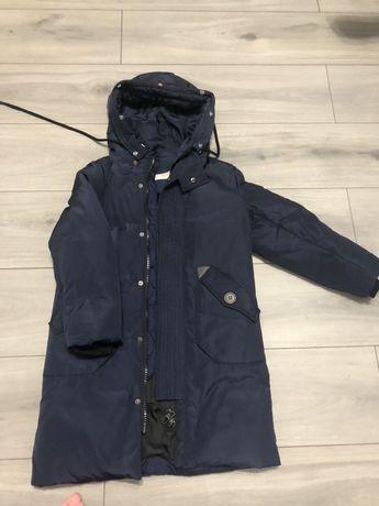 Продам зимове пальто на хлопчика ріст 120см