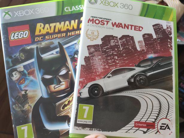 Xbox - most wanted i Batman 2 LEGO Xbox 360