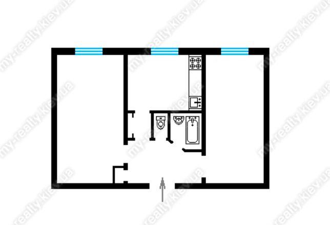 Продам 2 - к. квартиру по улице Гарматная 34.