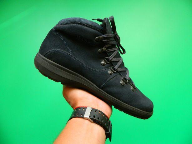 Мужские кожаные ботинки Hevesko Swiss Made p43/ Ecco Timberland