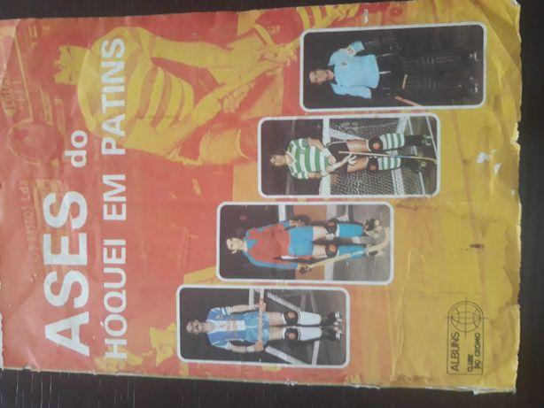 Caderneta Hóquei em Patins