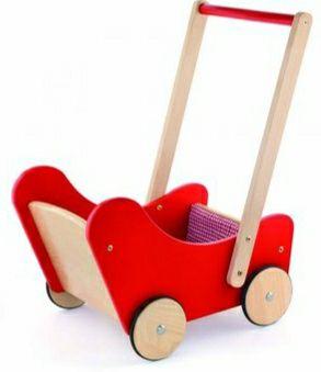 Wózek dla lalek drewniany pchacz Viga