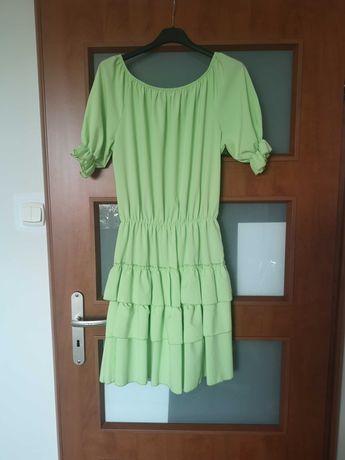 Sukienka damska plisa