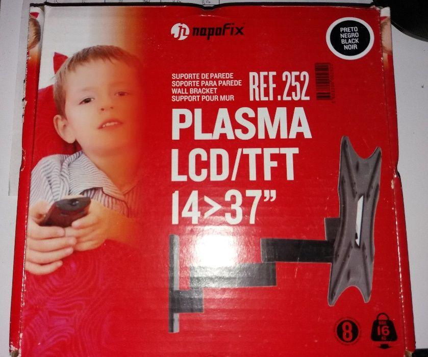 Suporte de parede p/Plasma LCD/TFT 14>37 NAPOFIX Horta (Matriz) - imagem 1