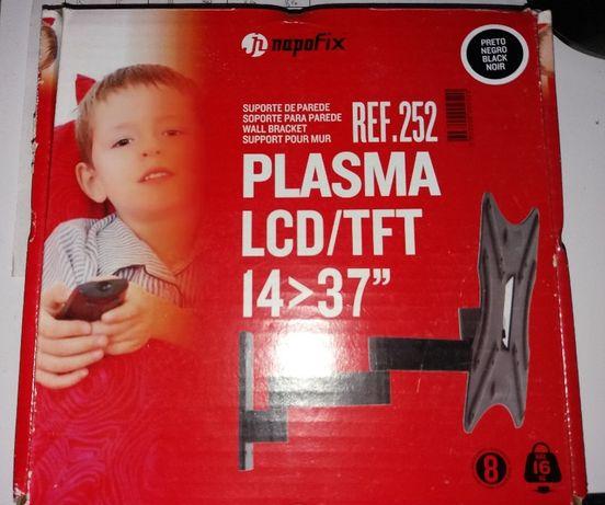 Suporte de parede p/Plasma LCD/TFT 14>37 NAPOFIX