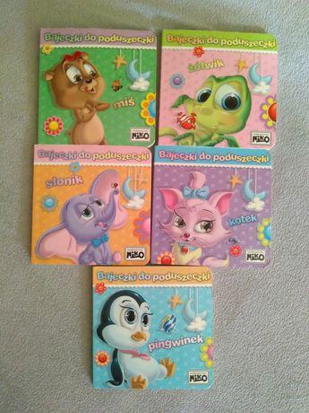 Książeczki dla dzieci na dobranoc miś słonik kotek