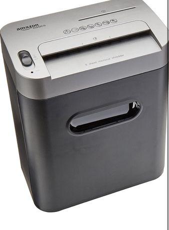Шредер подрібнювач для бумаги, компакт-дисков и кредиток уничтожитель