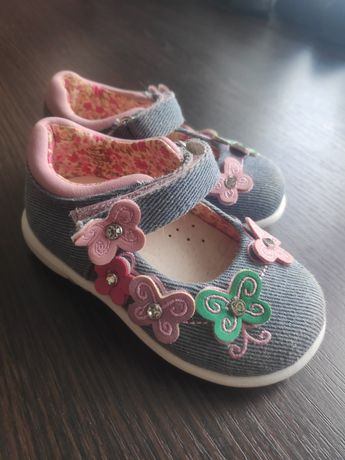 Туфельки для девочки Cupcake, мештики