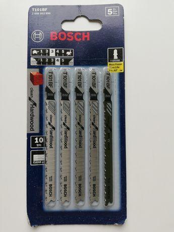 Brzeszczoty do wyrzynarki Bosch T101BF nowe z USA 5 sztuk