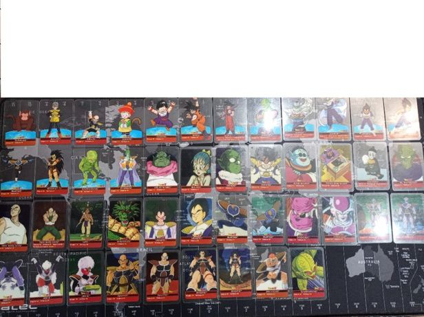 Karty Dragon Ball Z Laminacards edibas