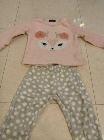 Pijama tamanho 92 cm