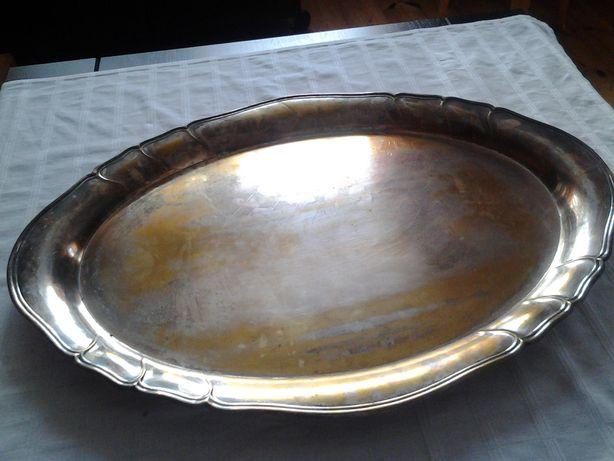 Taca - półmisek posrebrzany 67cm x 48 cm