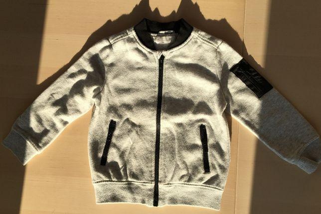Ciepła bluza rozpinana H&M 98-104 jak nowa